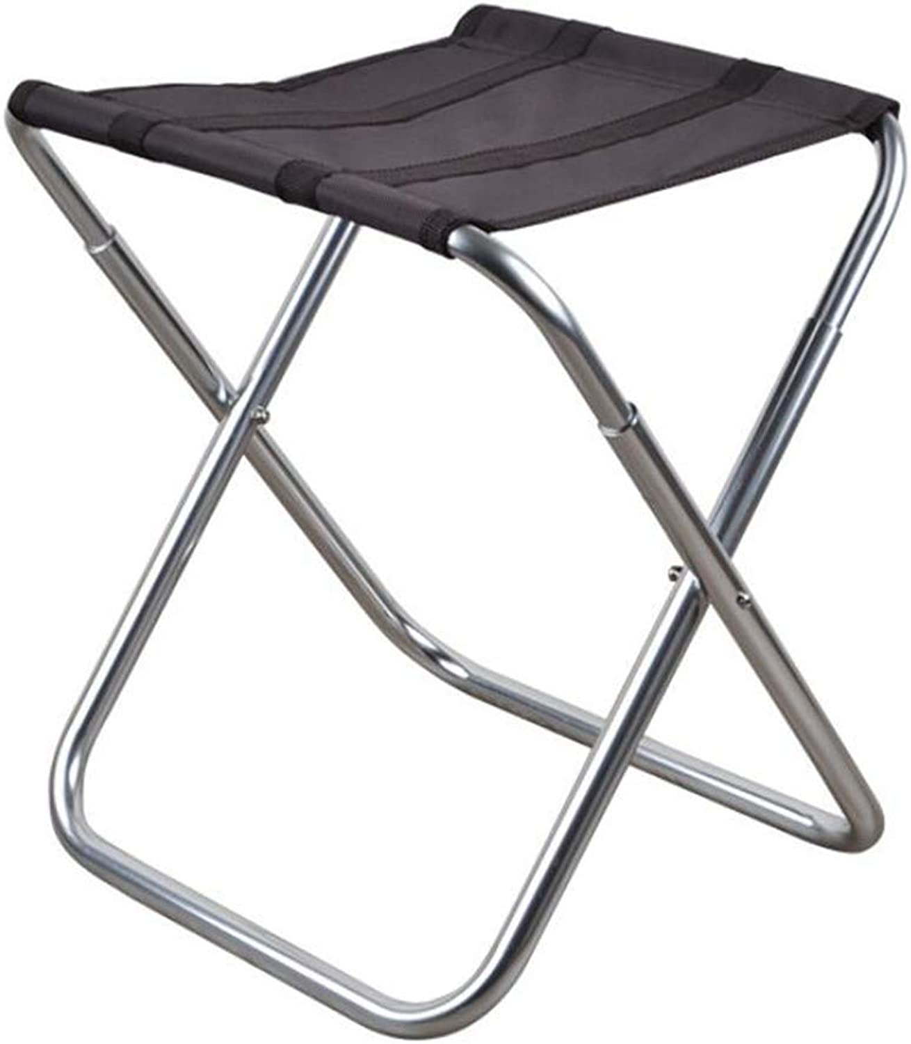 Outdoor Folding Portable Camping Stool Aluminum Bracket Camping Travel Chair Hiking Sketch Fishing Barbecue Bench Backpack Seat