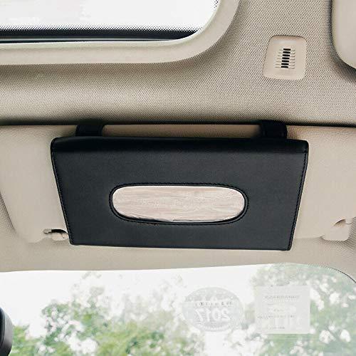 Auto Zon Visor Tissue Box Zwart