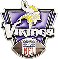 aminco NFL Minnesota Vikings Victory Pin