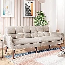 top rated 74 inch Sleeper Sofa Sofa and Sofa – Daybed Convertible Sofa Modern Reclining Duvet… 2021