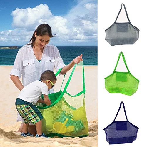 Sivane Niños al Aire Libre Juguetes de Playa Bolsa de Almacenamiento rápido Artículos Diversos Bolsa de Malla Almacenamiento y organización