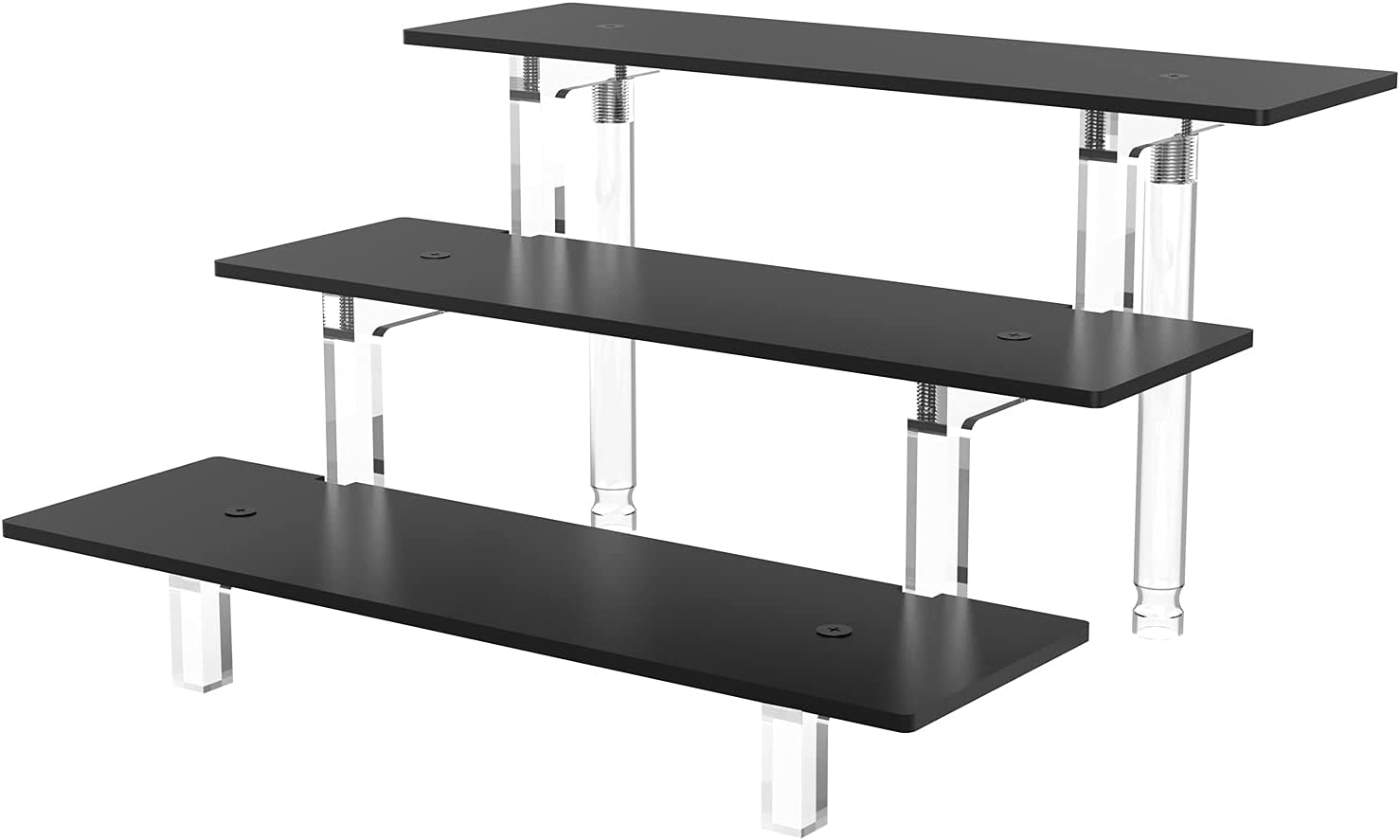 Price reduction Grarry Ranking TOP18 Acrylic Display Stands 3 Shelf Tier Riser