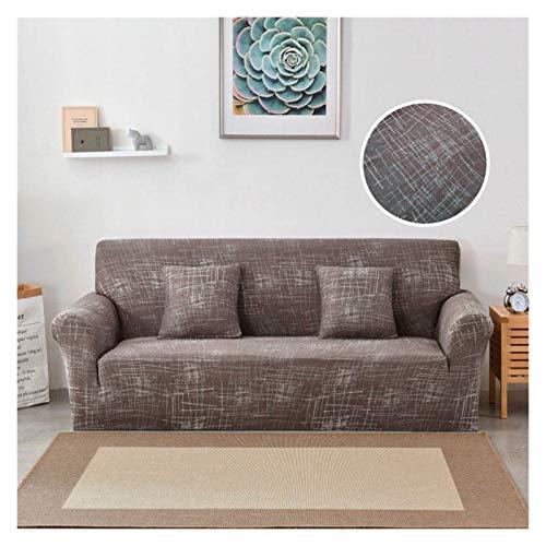 NEWRX Cubierta de sofá elástica Cubierta de algodón Sofá de algodón Sofá Apretado Cubiertas de sofá Todo Incluido para la Sala de Estar Mascotas Cubierta de sofá 1/2/3/4 Seaver