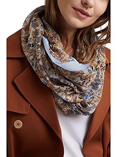 ESPRIT Recycelt: Web-Schal mit Blumen-Print