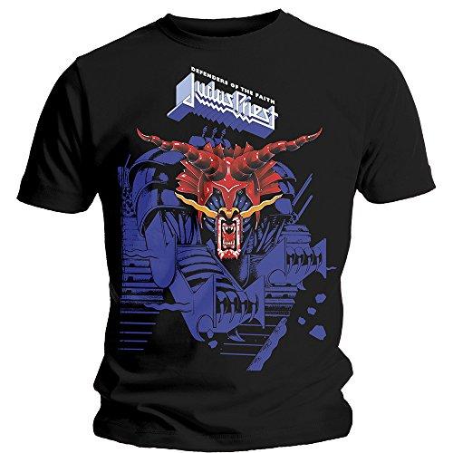 T-Shirt # Xl Black Unisex # Defenders Blue