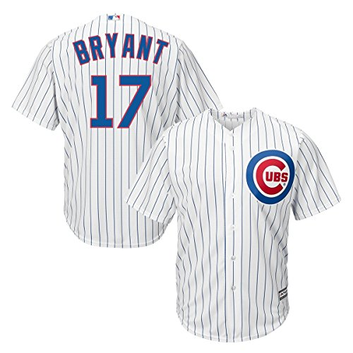 Kris Bryant Chicago Cubs Majestic MLB Cool Base Replica Men's Jersey Trikot