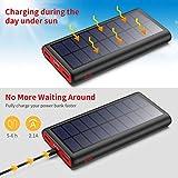 Zoom IMG-1 powerbank solare 26800mah vooe 2020