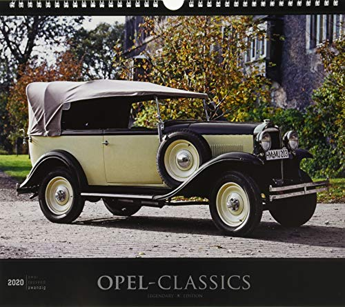 Opel-Classics 2020 - Oldtimer - Bildkalender (33,5 x 29) - Autokalender - Technikkalender - Fahrzeuge - Wandkalender: by Reinhard Lintelmann