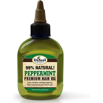 Difeel Premium Natural Hair Care Oil, Peppermint