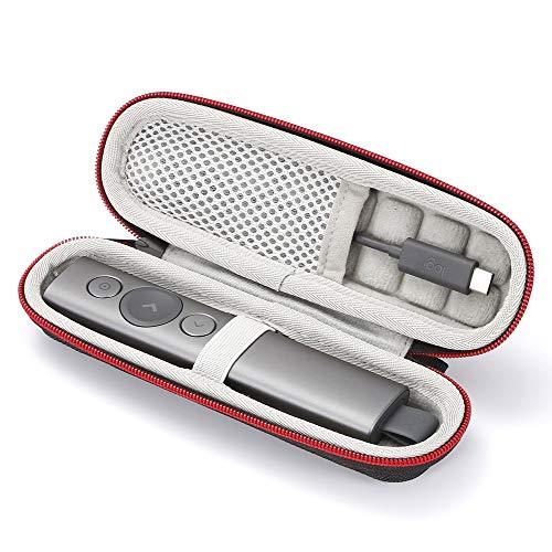 Hard case für Logitech Spotlight Presentation Remote (nur für Verkauf, Gerät und Zubehör sind nicht enthalten) - Schwarz(Grau Futter)