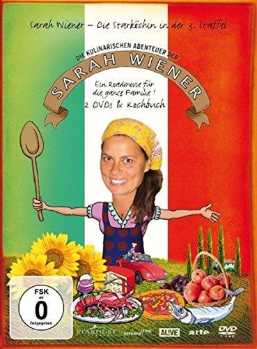 Die kulinarischen Abenteuer der Sarah Wiener - Staffel 3 (2 DVDs + Kochbuch)
