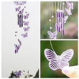 SKAISK Butterfly Windspiele hängen im Freien, zur Dekoration innen