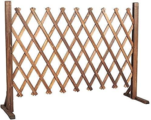 WSZYBAY Zäune Anti-Korrosion-Holzzaun, erweiterte Zaun-Weltraum-Trennbarriere, im Freien erweiterter dekorativer Zaun dekorativer Zaun Gartenrandrand (Größe: 90cm) (Size : 70cm)