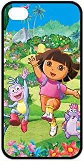 FashionFollower Customize Comics Series Dora the Explorer Fantastic Phone Case Suitable For iphone4/4s IP4WN41104