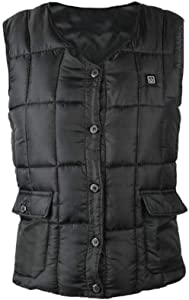 Wendysy Heated Vest Smart Clothing, Exothermic Vest, Three-Speed Temperature Control Adjustable Electric Vest, Winter Warm Heating Vest Sports&Outdoors Skiing Skating Electric Heated Vest