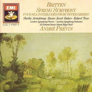 Britten: Spring Symphony / 4 Sea Interludes LSO/Previn