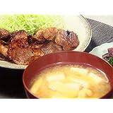 和風だし 豆腐と油揚げのみそ汁 豚のしょうが焼き