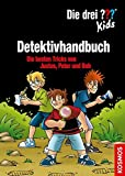 Die drei ??? Kids, Detektivhandbuch: Die besten Tricks von Justus, Peter und Bob
