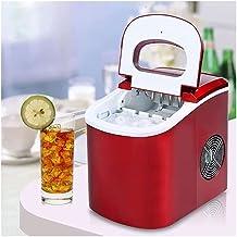 KSDCDF Machine à glaçons à comptoir avec auto-nettoyage, machine à glaçons automatique compacte 24h, 9 cubes prêts à 6-12 ...