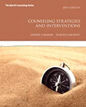 Counseling Strategies and Interventions by Cormier, Sherry, Hackney, Harold L.. (Pearson,2011) [Paperback] 8th Edition