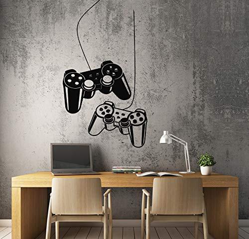 Vinilo adhesivo Joysticks Gamer Gaming Computer Game Wall Decor 22'