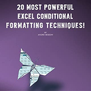 20 Most Powerful Excel Conditional Formatting Techniques! cover art