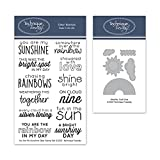 You are My Sunshine Stamps & Weather Metallschablonen – You are My Sunshine | Photopolymer-Stempel...