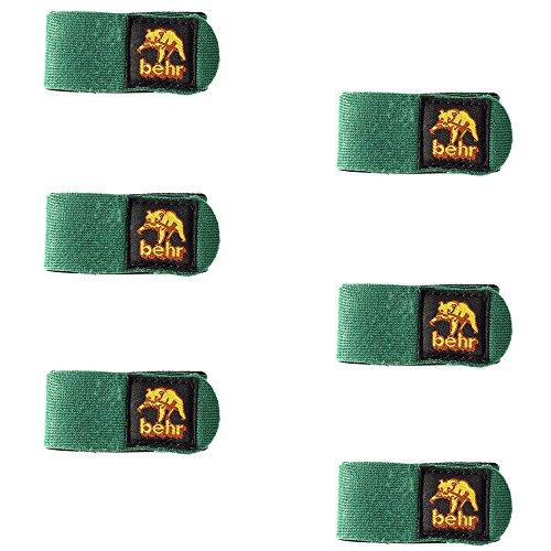 Neopren Klettband 6 Stk Rutenbänder Klettbänder im Set Ruten Bänder