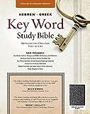 The Hebrew-Greek Key Word Study Bible: ESV Edition, Black Genuine Leather (Key Word Study Bibles)