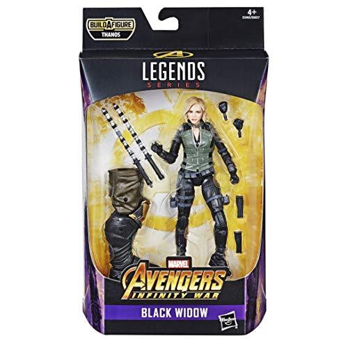 Marvel Legends Serie Avengers: Infinity War Black Widow Figur 15 cm