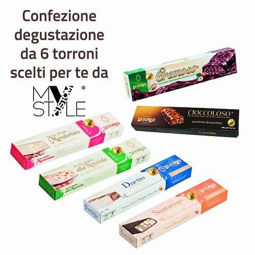 My Custom Style by Vincenzo di Iorio. Mix degustazione 6 Torroni Assortiti.
