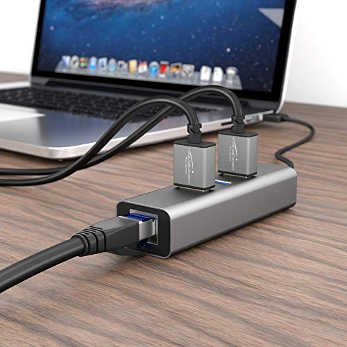 KabelDirekt – Cat 7 Netzwerkkabel RJ45 – 5m – 10 Gigabit Ethernet, LAN & Patch Kabel (geeignet für Highspeed Netzwerke, Switch, Router, PC und Modem, schwarz)