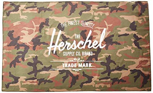 Herschel Campinghandtuch, Einheitsgröße, Woodlang / Camouflage, Einheitsgröße, Camping-Handtuch