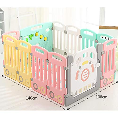 Buy Discount Qivor Playpen Baby Playpen Children Fence with Activity Panels, Baby Indoor Protective ...