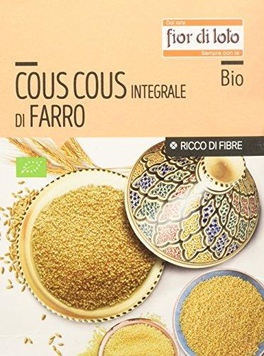 Fior di Loto Cous Cous di Farro Integrale Bio - 3 Pezzi