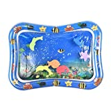 PoeticHouse Baby Water Play Mat Inflable Almohadilla de Agua para bebés Llenar Fun Water Play Mat Fun Activity Play Center para niños y bebés