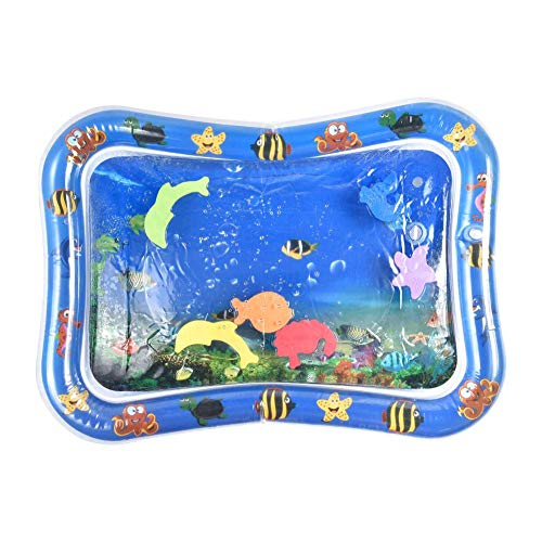 PoeticHouse Baby Water Play Mat Inflable Almohadilla de Agua para bebés Llenar Fun Water Play Mat Fun Activity Play Center para niños y bebés