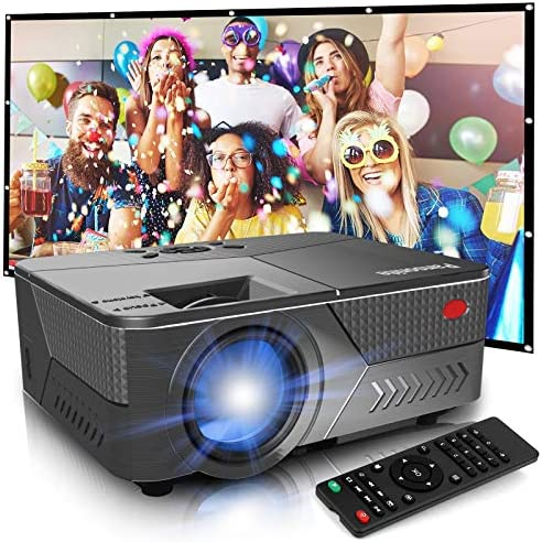 Pansonite Mini Projector with High Brightness Support 1080P and 200 Display Portable Projector product image