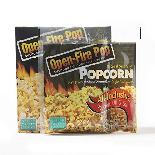 Wabash Valley Farms All Inclusive Popping Kits - Open Fire Pop - 5 Kit - 1 Pack