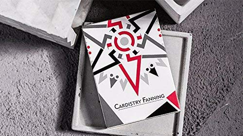 MTS Cardistry Fanning White Playing Cards