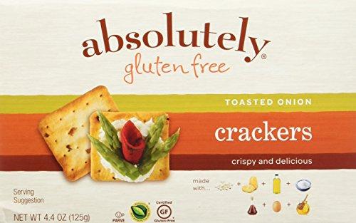 Absolutely Gluten Free Cracker Gf Tstd Onion