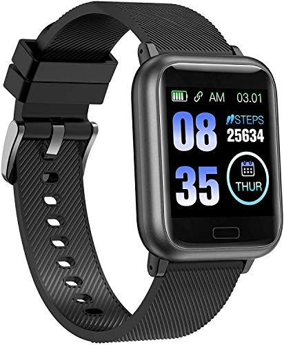 Smart Watch Health Fitness Tracker Fitness Watch Smartwatch with Heart Rate Monitor, Pedometer Watch Step Counter, Cardio Smart Watch for Women Men