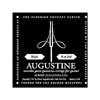 AUGUSTINE オーガスチン クラシックギター弦 ブラック2弦 BLACK 2nd