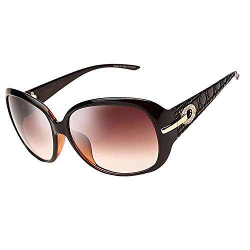 b10b9dda989 DUCO oversized polarised sunglasses for women ladies sunglasses 100% UV400  Protection 6214