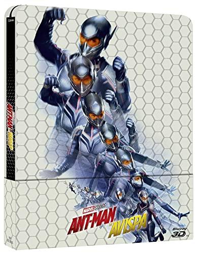 Ant-Man y la Avispa - Steelbook 3D + 2D [Blu-ray]