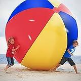 Novelty Place Gigante Pelota de Playa Inflable, Juego de Piscina para Niños y Adultos -...