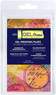 Gel Press GEL10808 Plaque de Gel, Transparent, 8 x 13 cm