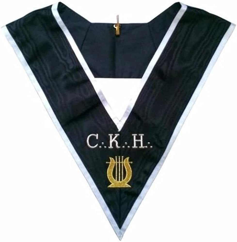 Masonic Officer's collar - ASSR - 30th degree - CKH - Grand Organiste