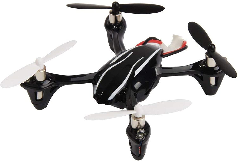 SQSAY Verbesserter X4 H107L Micro Quadcopter mit LED-Nachtlichter LED Edition 2.4G LCD Radio Controller