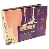 CAIUL [Fujifilm Instax Mini Foto Álbum] 50 Páginas DIY Álbum para Fujifilm Instax Mini 70 7s 8 8+ 9 25 26 50 90/ Pringo 231/ Instax SP-1/ Polaroid PIC-300P Z2300 Film (Música)